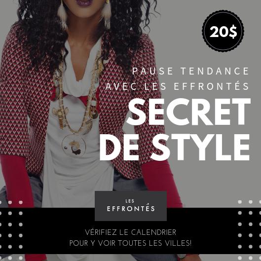 6 à 8 Secret de Style