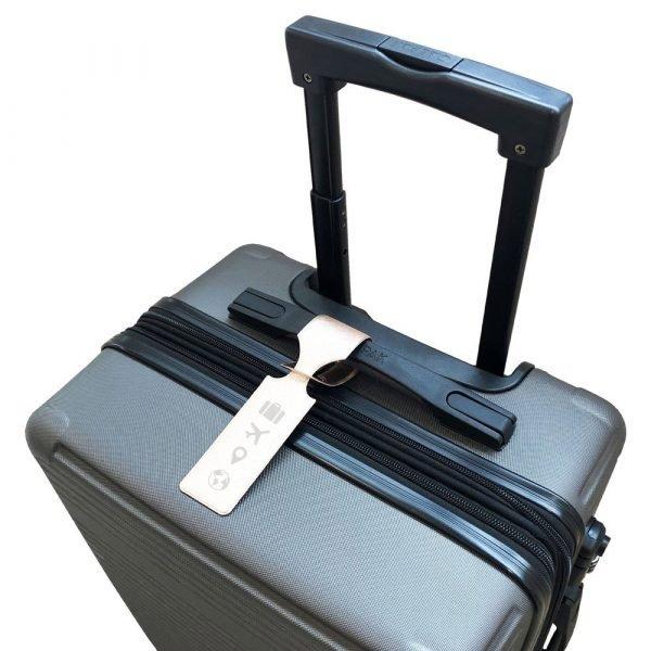 Set of 2 luggage loops