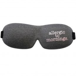Eye mask - Allergic to mornings
