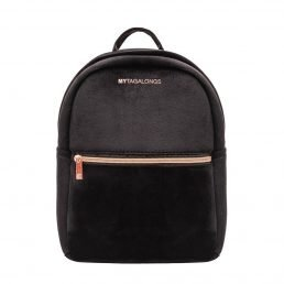 Mini backpack - velvet