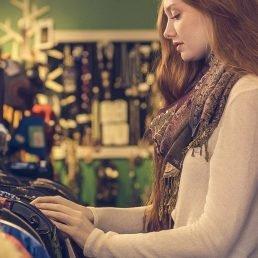 Formation en stylisme: magasinage en boutique