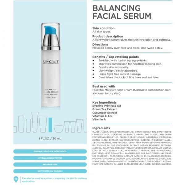 Balancing Serum