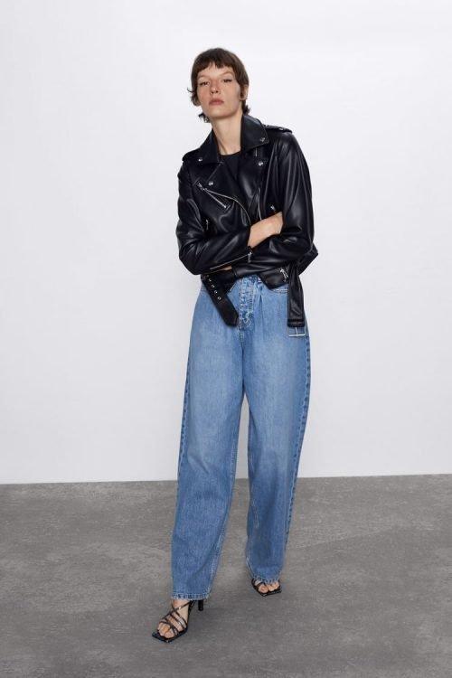 Zara : noir, simili (plus abordable)